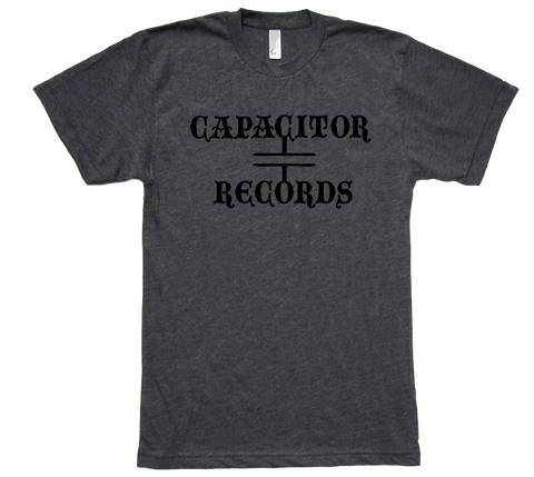 Capacitor Records 50/50 Mens Gray