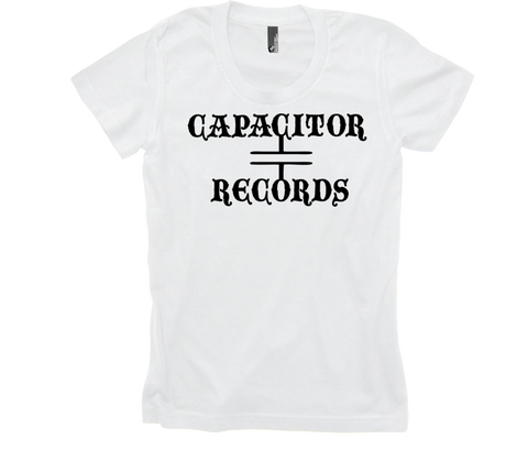 Capacitor Records 50/50 Womens White
