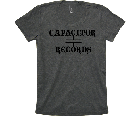 Capacitor Records 50/50 Womens Gray