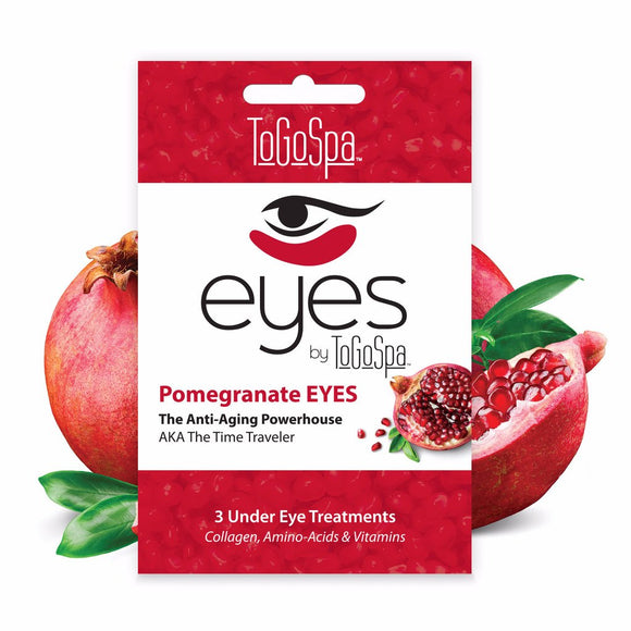 To Go Spa - Pomegranate EYES - The Time Traveler - 3 Treatments