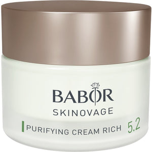 Babor - SKINOVAGE - Purifying Cream Rich - Contents: 50 ml - Affinity Skin Care