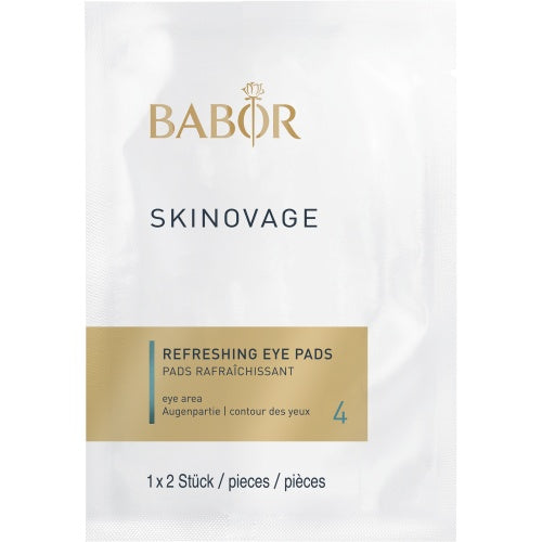 Babor - SKINOVAGE - Balancing - Refreshing Eye Pads - Contents: 5 pieces - Affinity Skin Care