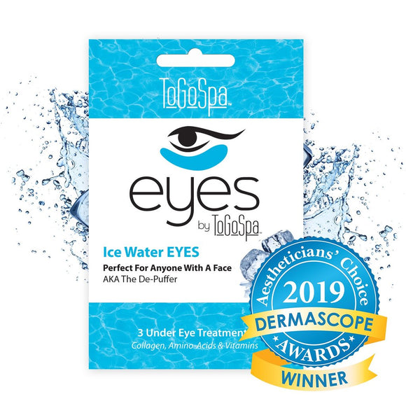 To Go Spa - Ice Water EYES - The De-Puffer - 3 Treatments