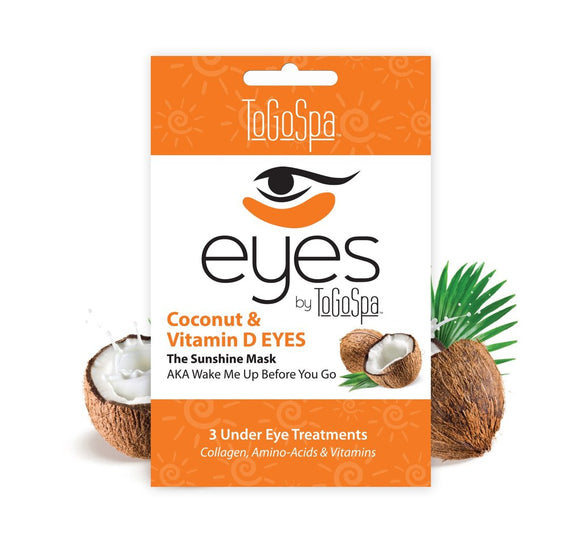To Go Spa - Coconut EYES- The Hydration Staycation - 3 Treatments