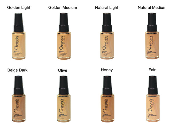 Osmosis + COLOUR  -  Performance Wear Satin Foundation - Affinity Skin Care