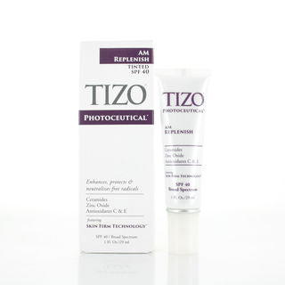 Tizo - PHOTOCEUTICAL - AM Replenish Lightly Tined - SPF 40 - Affinity Skin Care