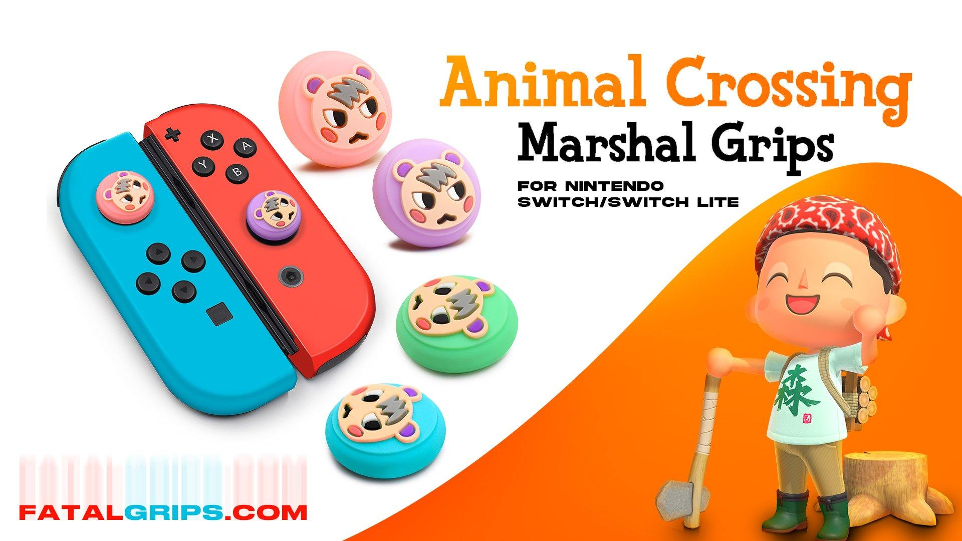 Animal Crossing Marshal Grips - Fatal Grips