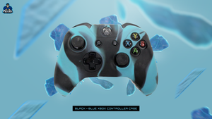 BLACK/BLUE XBOX ONE CONTROLLER CASE - fatalgrips