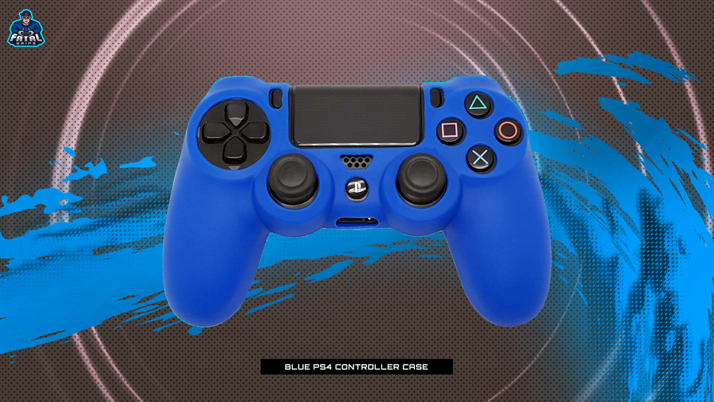 FATAL GRIPS | BLUE PS4 CONTROLLER CASE - fatalgrips
