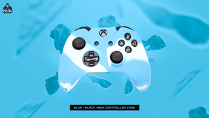 Blue/White Xbox One Controller Case - Fatal Grips