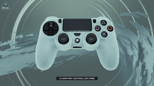 CLEAR PS4 CONTROLLER CASE - fatalgrips