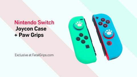 Animal Crossing Joycon Case + Grips