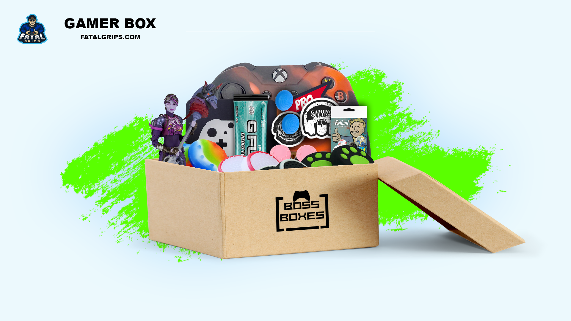 Gamer Box Xbox One - Fatal Grips