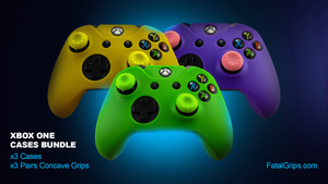 Xbox One Cases Bundle - Fatal Grips