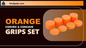 Orange Convex & Concave Grips Set - fatalgrips