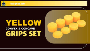 Yellow Convex & Concave Grips Set - fatalgrips
