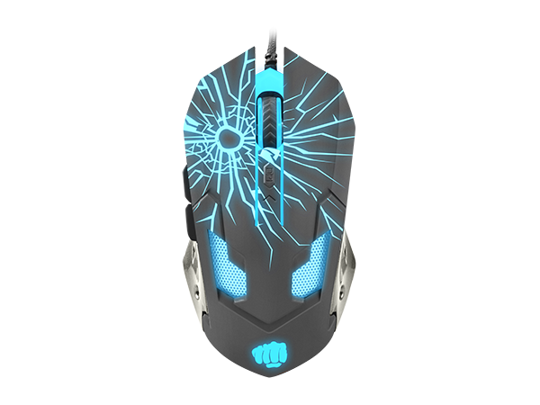 Fury Gaming Mouse Gladiator 3200DPI Optical - fatalgrips