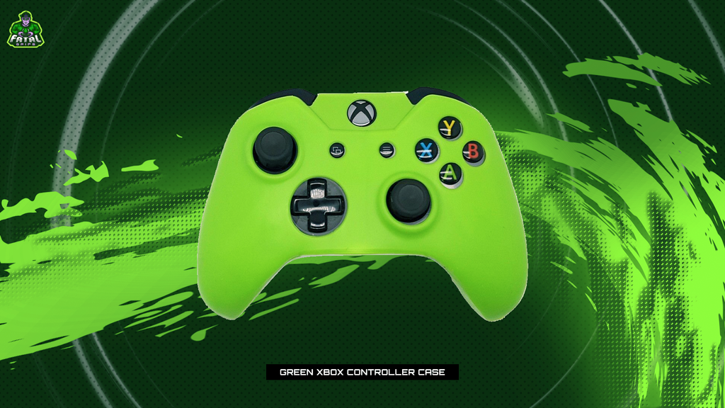 FATAL GRIPS | GREEN XBOX ONE CONTROLLER CASE - fatalgrips