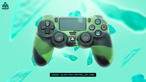 FATAL GRIPS | GREEN/BLACK PS4 CONTROLLER CASE - fatalgrips