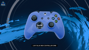 Light Blue Xbox One Controller Case - Fatal Grips