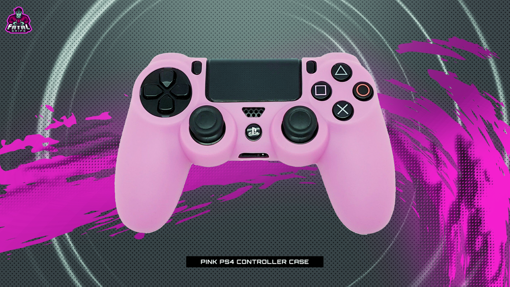 FATAL GRIPS | PINK PS4 CONTROLLER CASE - fatalgrips