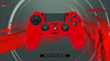 RED PS4 CONTROLLER CASE - fatalgrips
