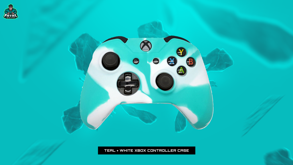 FATAL GRIPS | TEAL/WHITE XBOX ONE CONTROLLER CASE - fatalgrips