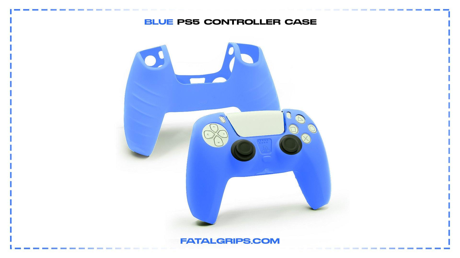 Blue PS5 Controller Case