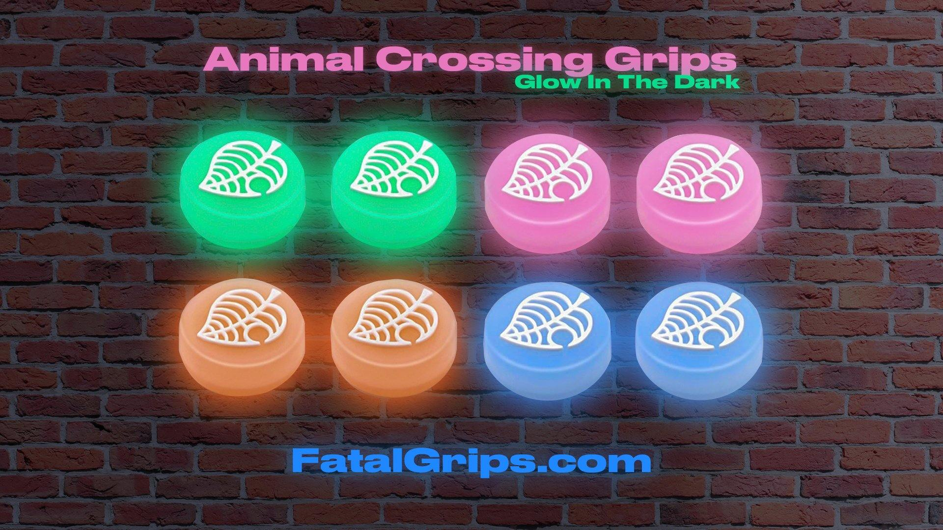 Animal Crossing Glow in the Dark Grips