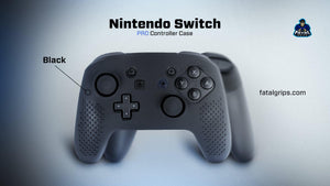 Nintendo Switch Pro Controller Case (Black) - fatalgrips
