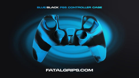 Blue/Black PS5 Controller Case