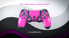 PINK CARBON FIBER WRAPS/SKINS FOR PS4 CONTROLLER - Fatal Grips