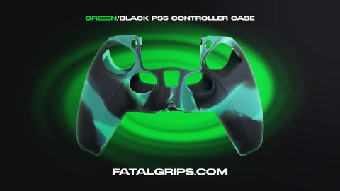 Green/Black PS5 Controller Case