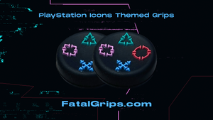 Playstation Icon Themed Grips - Fatal Grips
