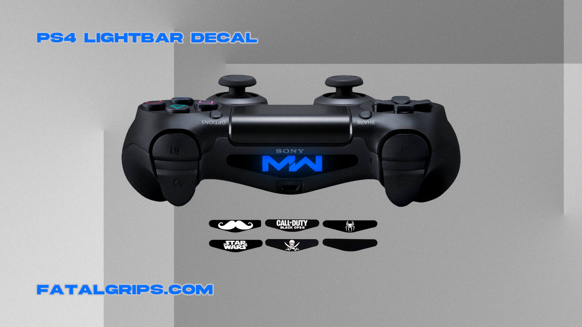 Random PS4 Light Bar Decal - Fatal Grips
