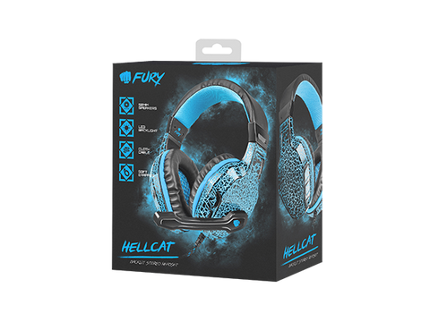 Fury Gaming Headset Hellcat Stereo - fatalgrips