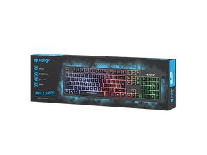 Fury Gaming Keyboard Hellfire - fatalgrips