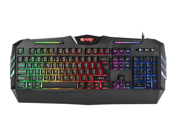 Fury Gaming Keyboard Spitfire - Fatal Grips