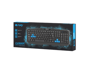 Fury Gaming Keyboard Typhoon - fatalgrips