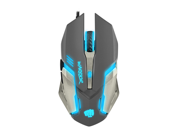 Fury Gaming Mouse Warrior 3200DPI Optical - fatalgrips