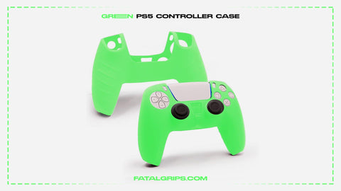 Green PS5 Controller Case