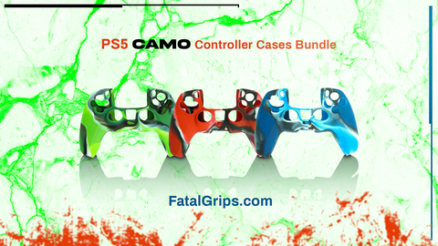 PS5 Camo Controller Case Bundle