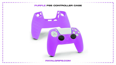 Purple PS5 Controller Case