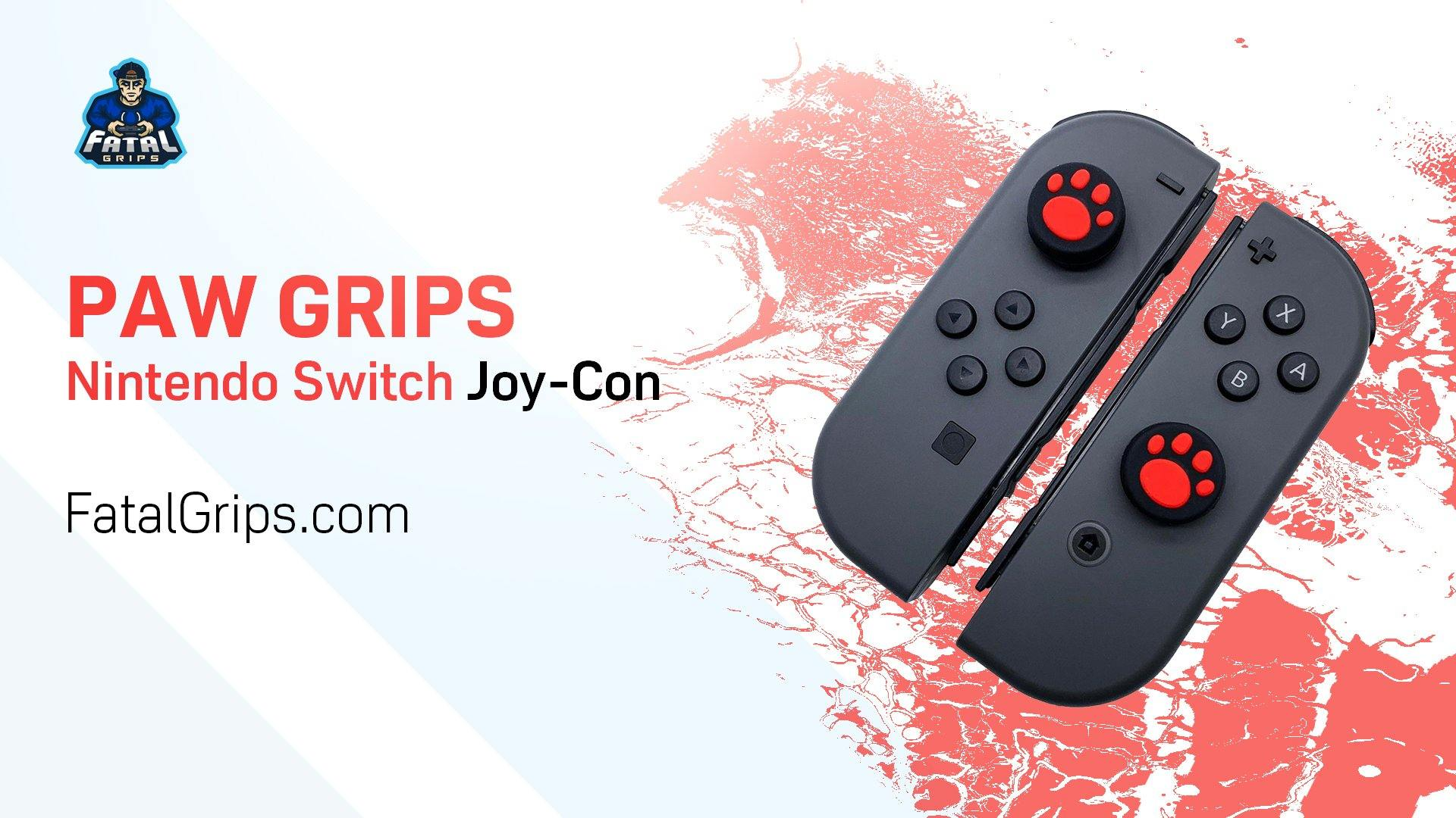 Paw Grips - Nintendo Switch Joy-Con Controller - Fatal Grips