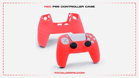 Red PS5 Controller Case