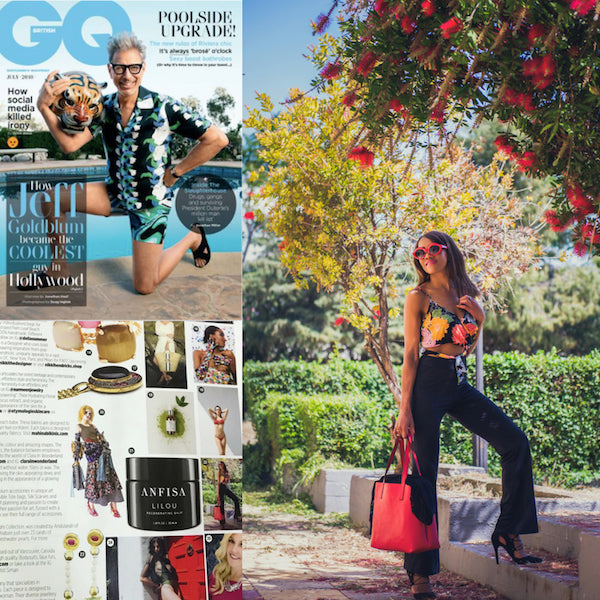 British GQ: ID PETERS LONDON  featured in Summer Loving...