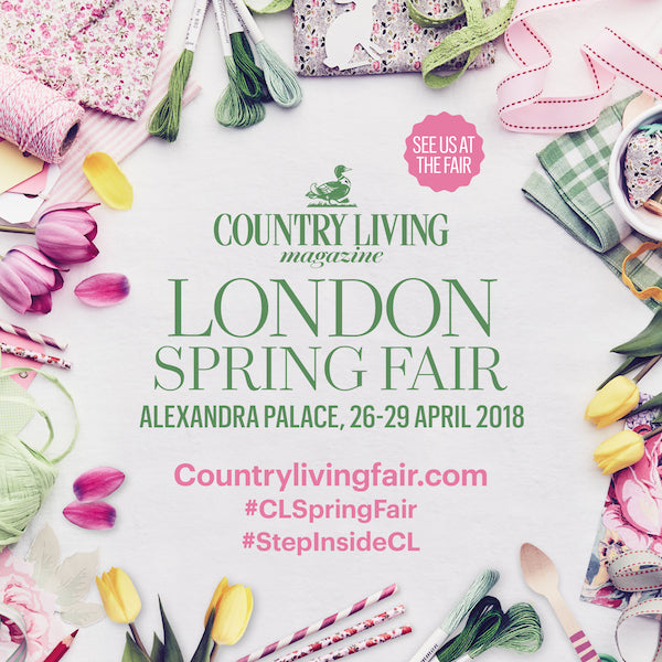 Join Us at the Country Living Fair 26th -29th April 2018
