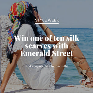 EMERALD STREET COMPETITION - WIN 1 OF 10 SILK SCARVES