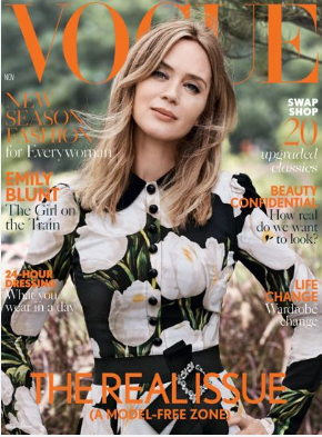 Real Women in Vogue November Issue