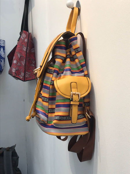 backpack tiwa  yellow